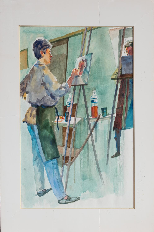 Sandra Henderson / Wo... by  William Sherman - Masterpiece Online