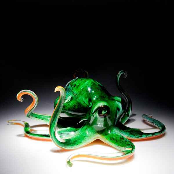 Soul Glass Octopus ... by  Michael Hopko - Masterpiece Online