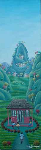 Village 3 by  Amerlin DELINOIS - Masterpiece Online