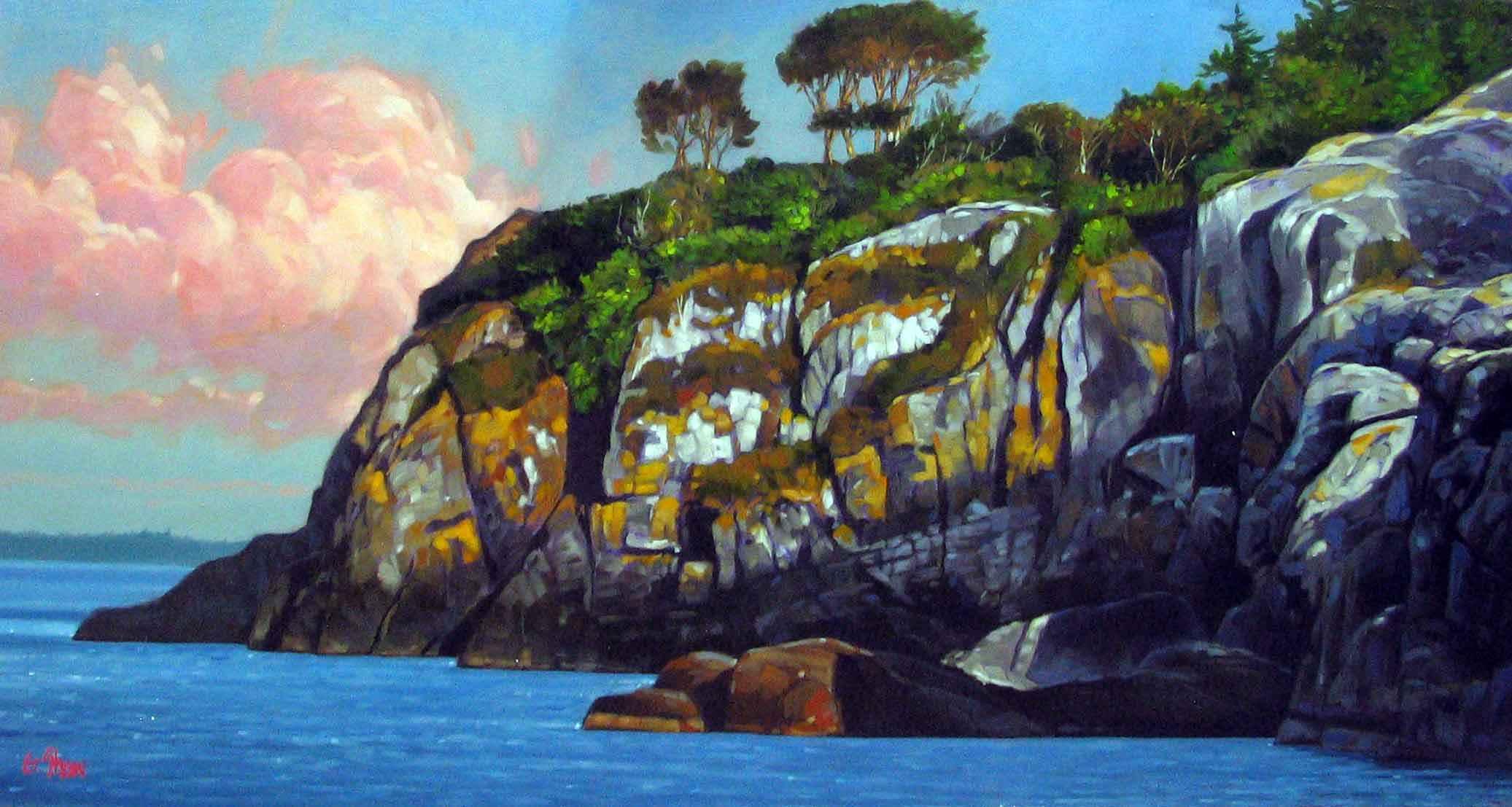 North Face, Ballena's... by  Graeme Shaw - Masterpiece Online