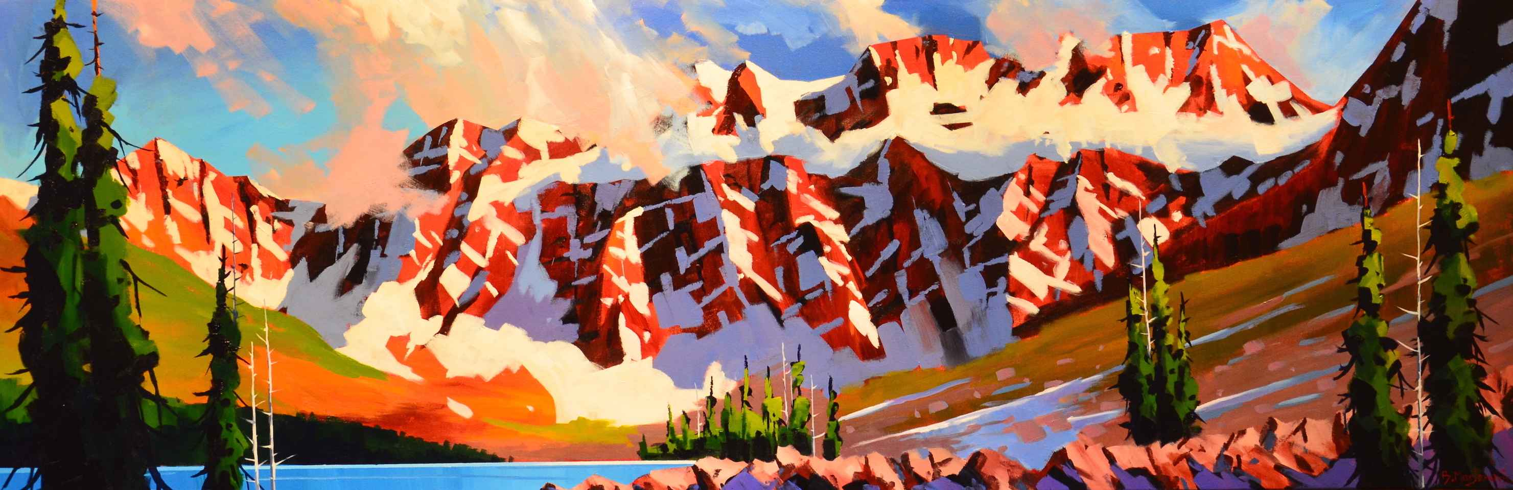 Moving Clouds At Cons... by  Branko Marjanovic - Masterpiece Online