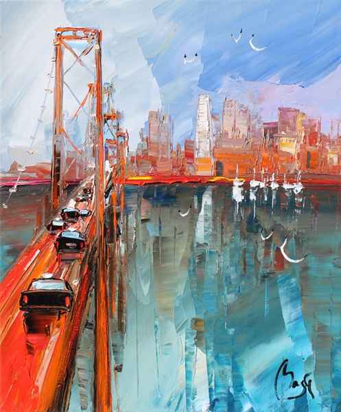 Golden Gate by  Louis  Magre - Masterpiece Online