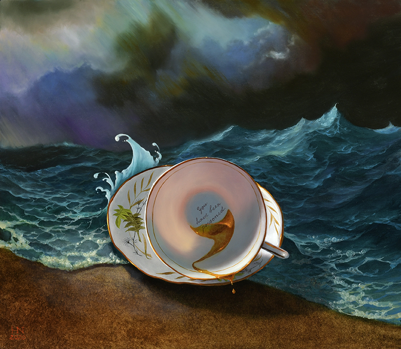 Tempest in a Teacup by  Heather Neill - Masterpiece Online