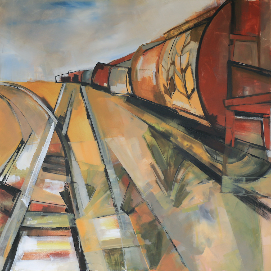 The Grain Train by  Katie Leahul - Masterpiece Online