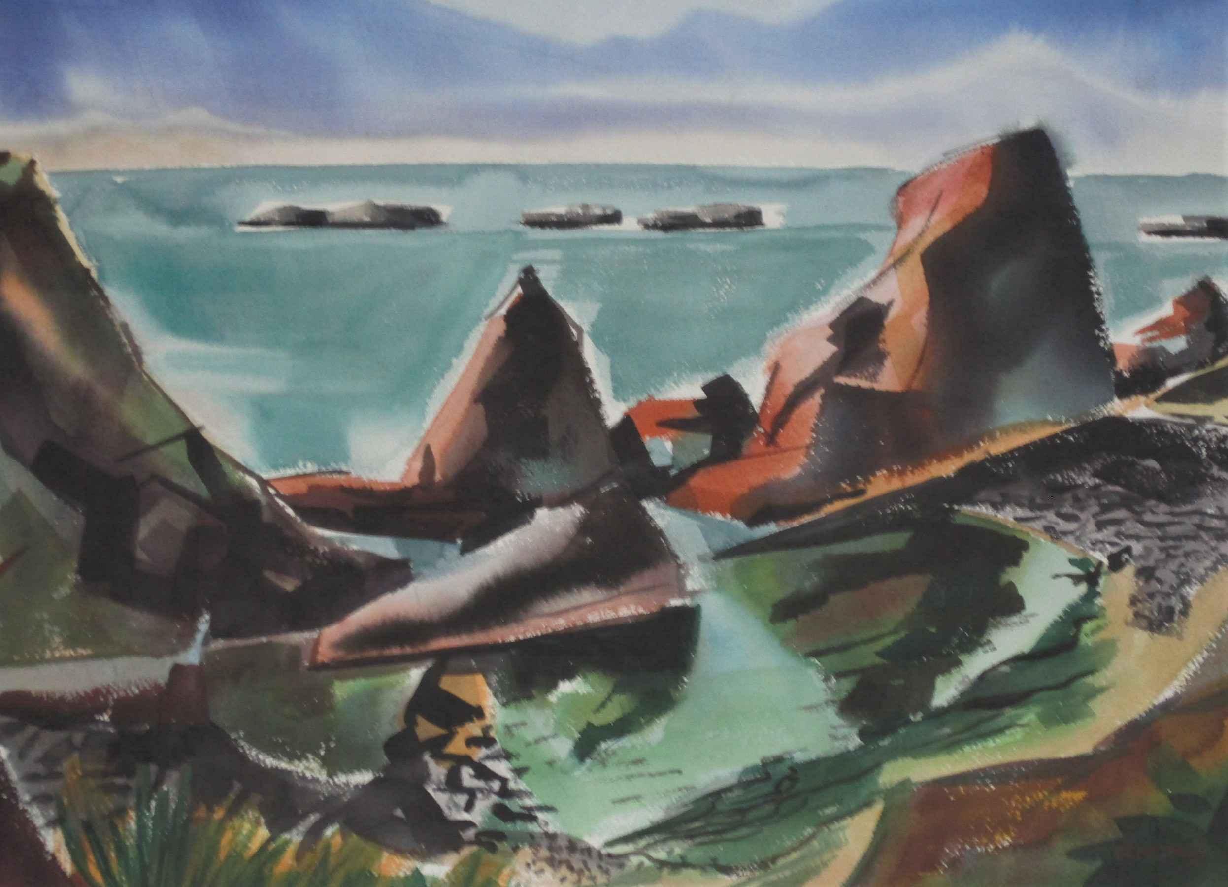 Unknown (Seascape) by  Demetrios Jameson - Masterpiece Online