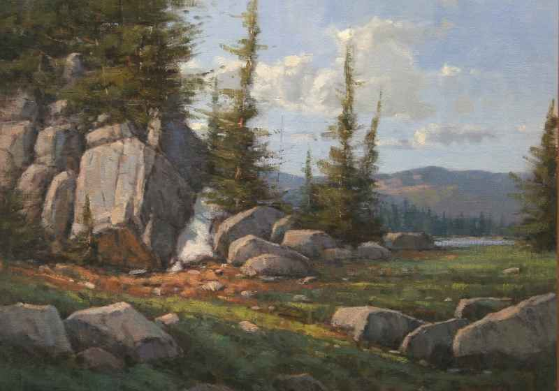 Light on the Monolith by  John Hughes - Masterpiece Online