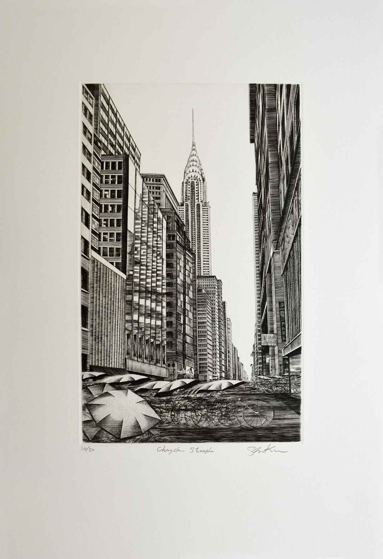 Chrysler Steeple by  Shigeki Kuroda - Masterpiece Online