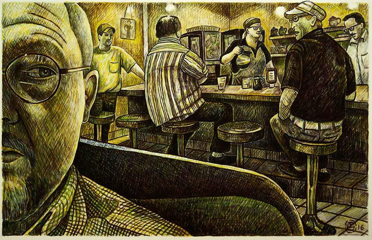 The Regulars by  Patrick Doughman - Masterpiece Online
