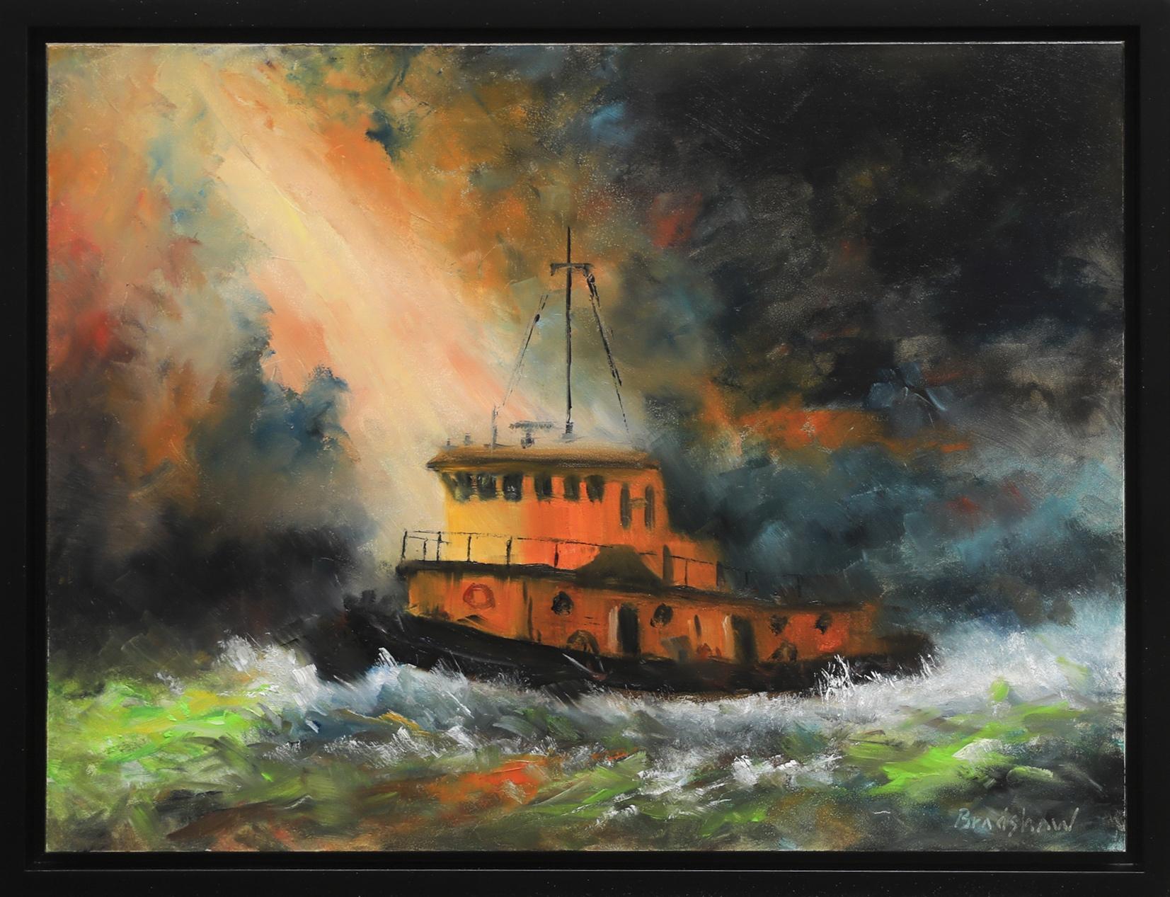 Stormy Waters by  Bob Bradshaw - Masterpiece Online