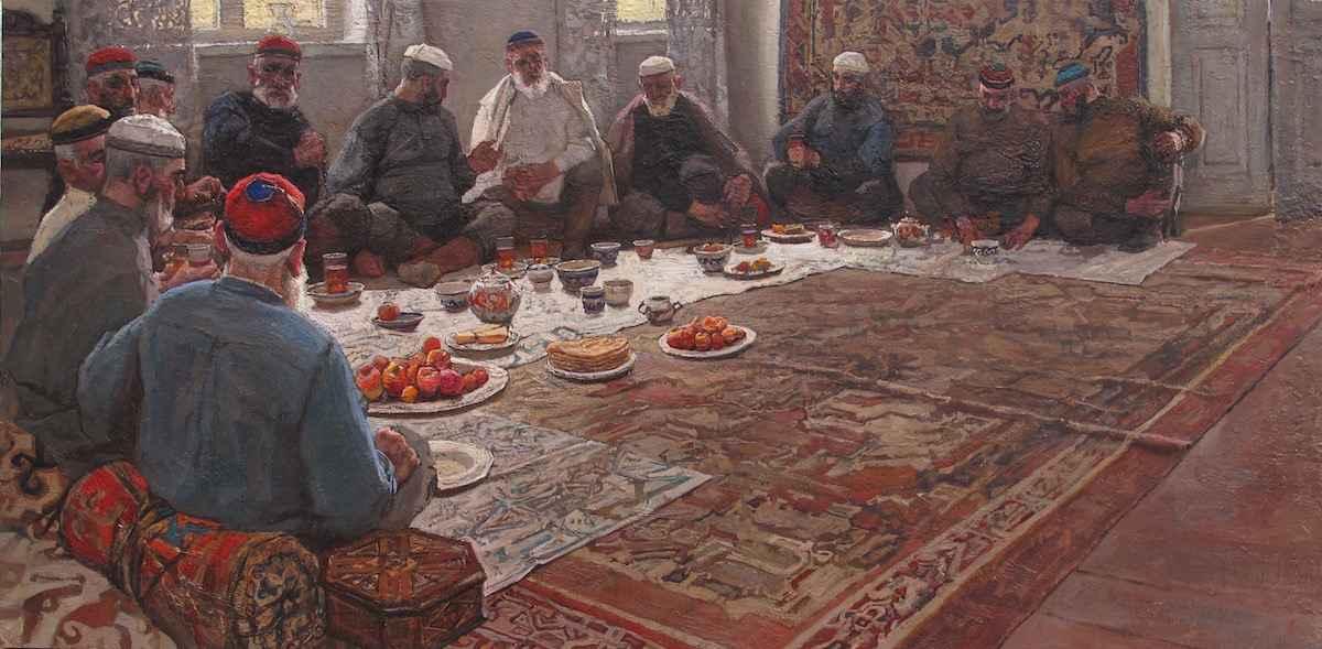 Elders, I by  Daud Akhriev - Masterpiece Online