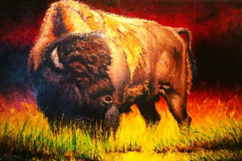 Spirit of the Bison  ...  by  Harry Koyama