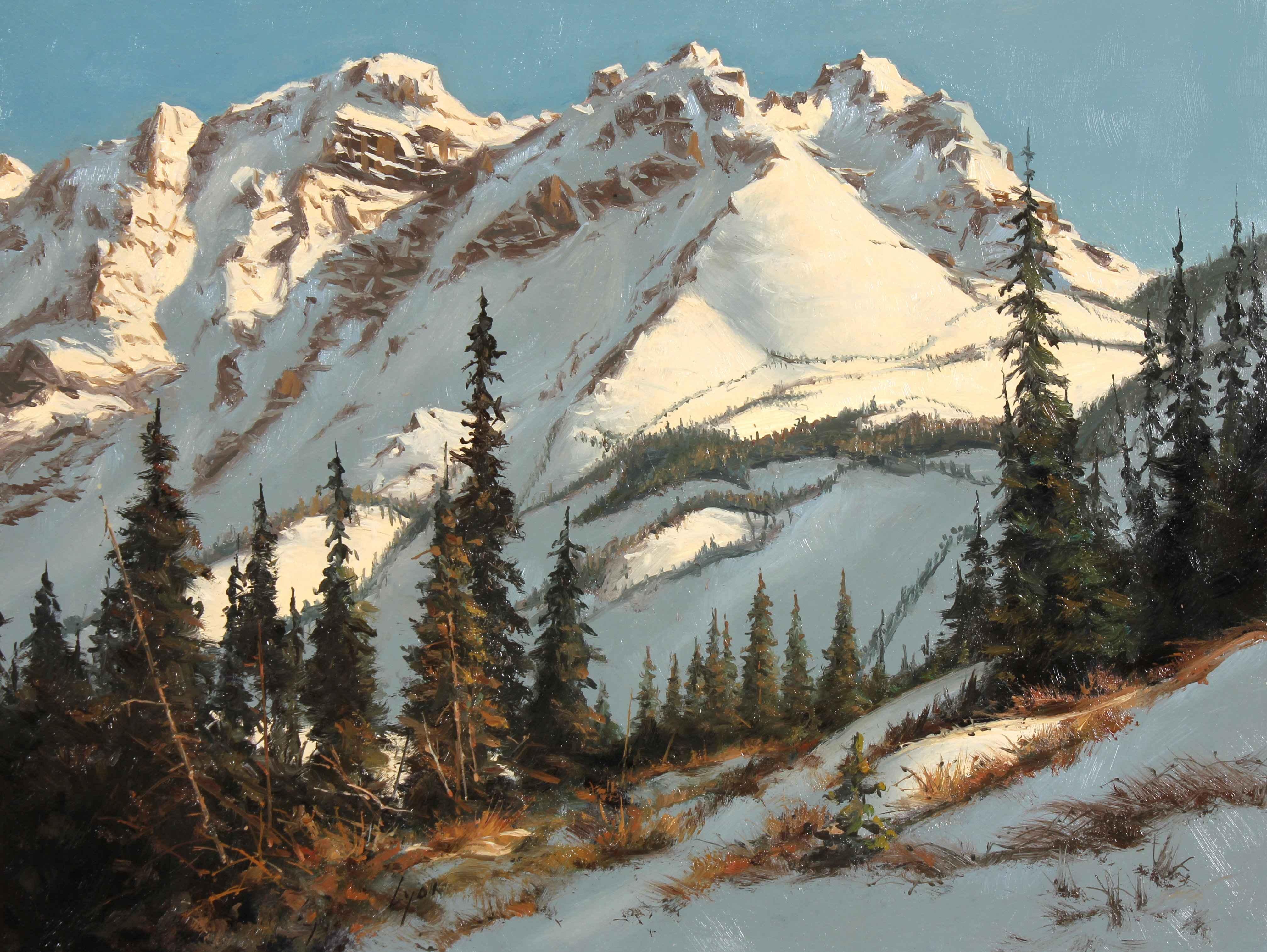 Majestic Mountain  by  Harold Lyon