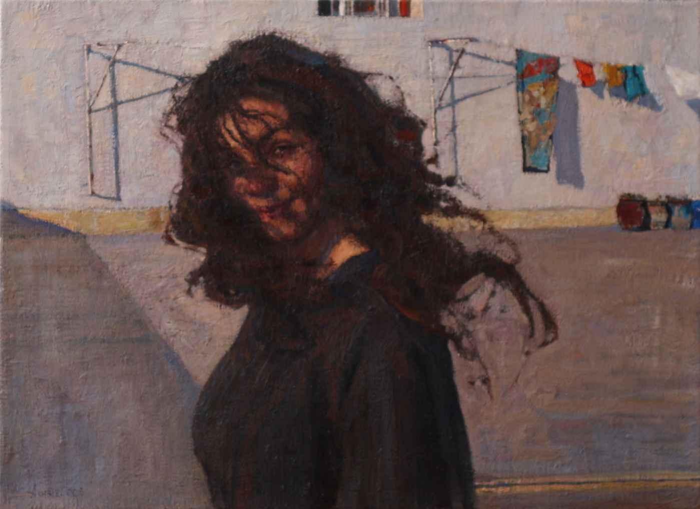 Alexandra Wind by  Daud Akhriev - Masterpiece Online