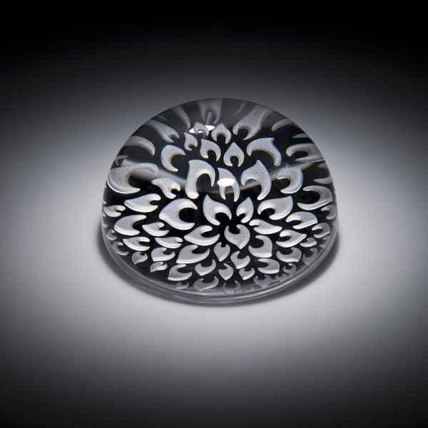 SM - Dahlia Paperweig... by  Carrie Gustafson - Masterpiece Online
