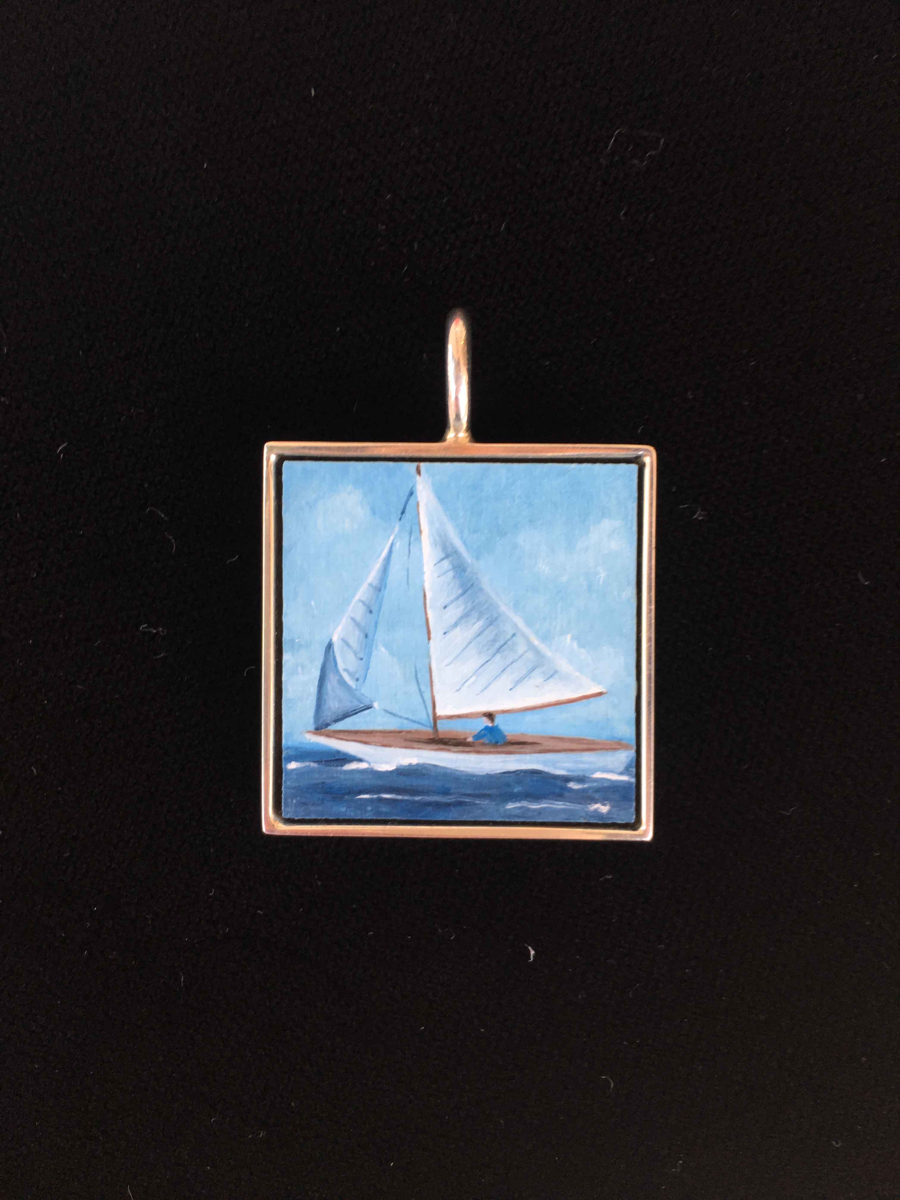 #214 Large Square- Wh... by  Nell Mercier - Masterpiece Online