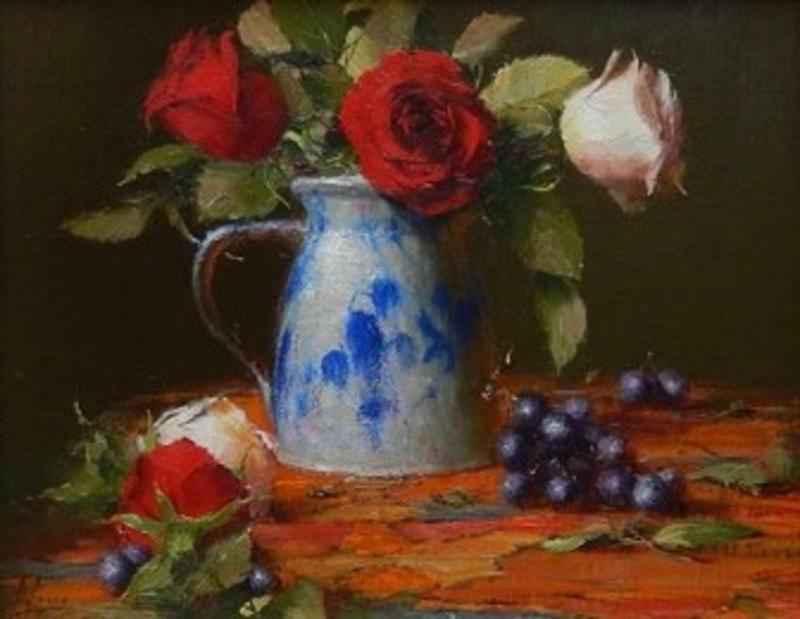 Amish Salt Glaze Pitc... by  Robert A. Johnson, OPAM - Masterpiece Online
