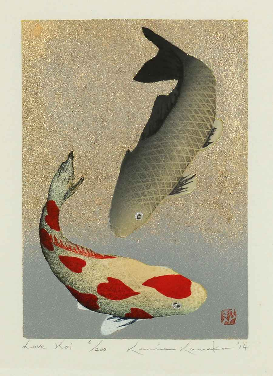 Love Koi by  Kunio Kaneko - Masterpiece Online