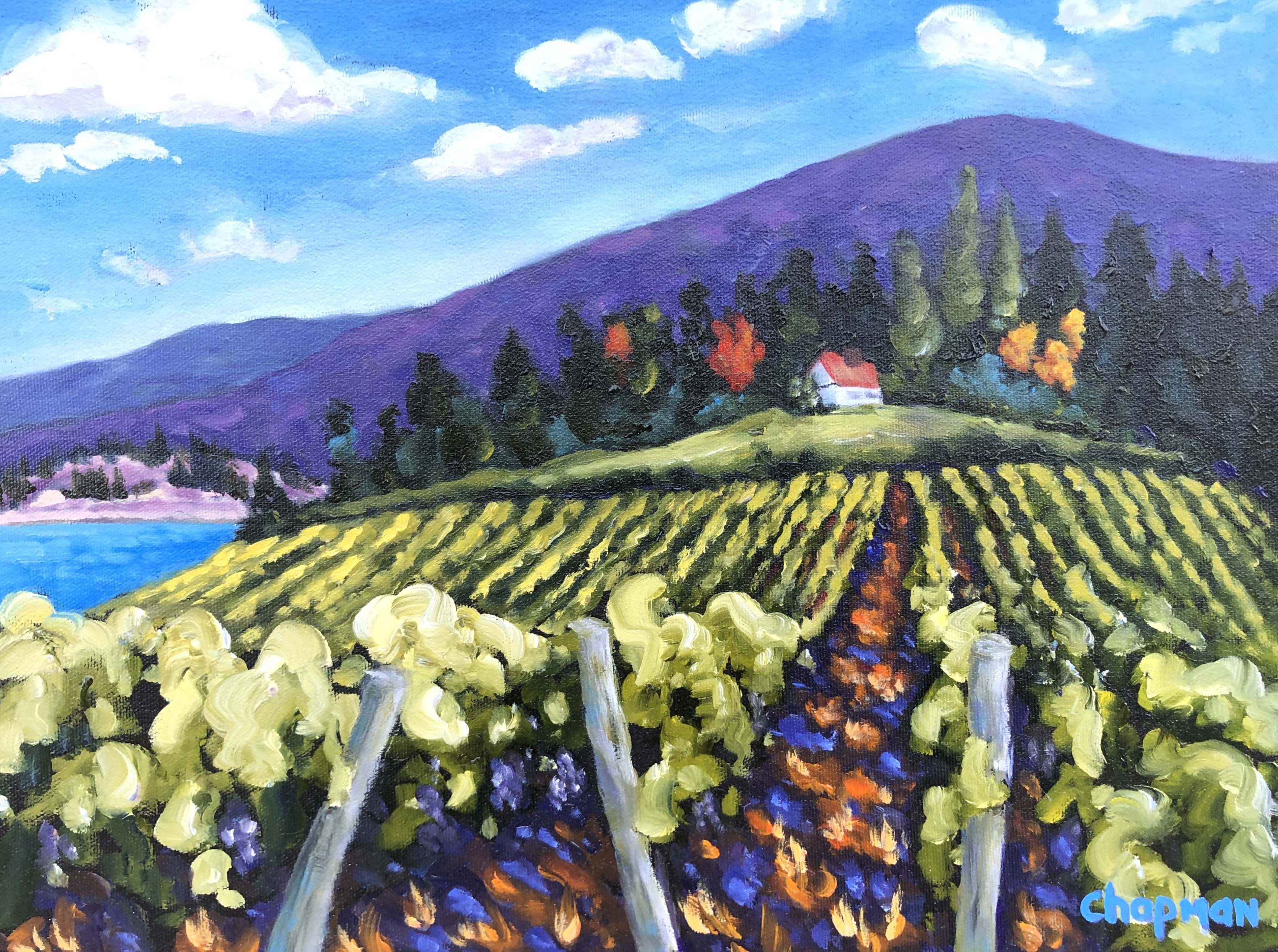 Nestled In the Vines by  Sandra Chapman - Masterpiece Online