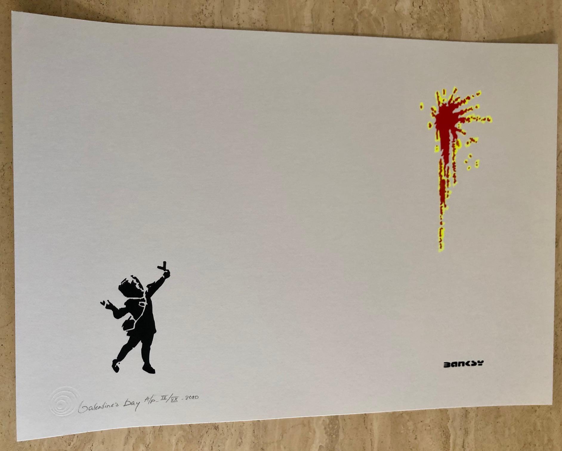 Valentine's Day by   Banksy - Masterpiece Online