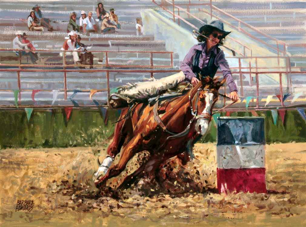 SOLD- Champions (CO... by  Barbara Summers Edwards - Masterpiece Online