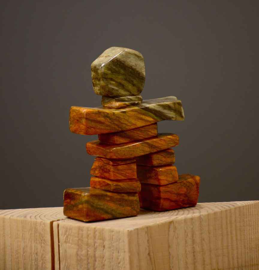 Arizona the Inukshuk by  Barb Janman - Masterpiece Online