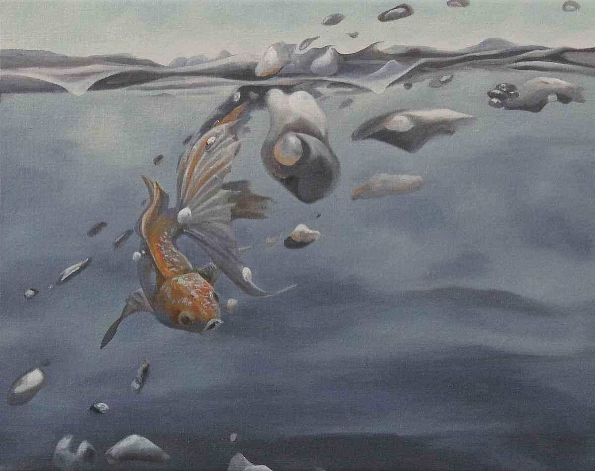 Getting Swept Away by  Steve Bowersock - Masterpiece Online