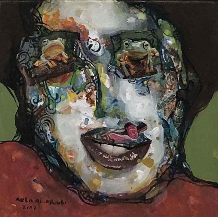 Small Portrait #3 by  Aula Alayoubi - Masterpiece Online