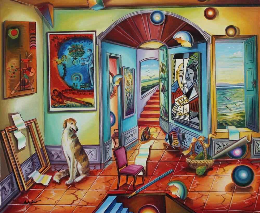 Hidden Room by  Alexander Astahov - Masterpiece Online