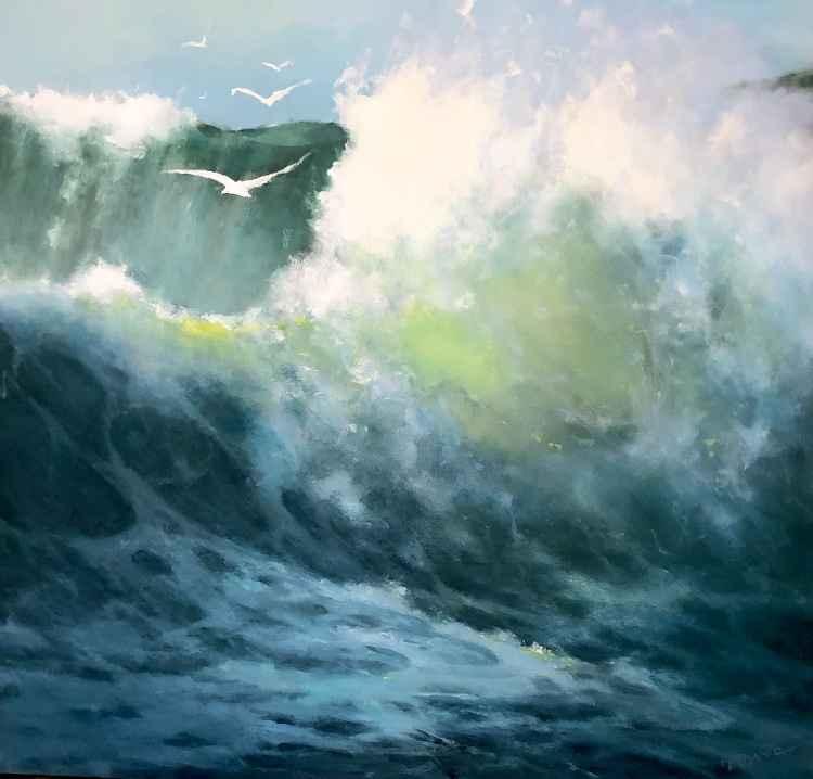Breaking Wave II by  Frank Ferrante - Masterpiece Online