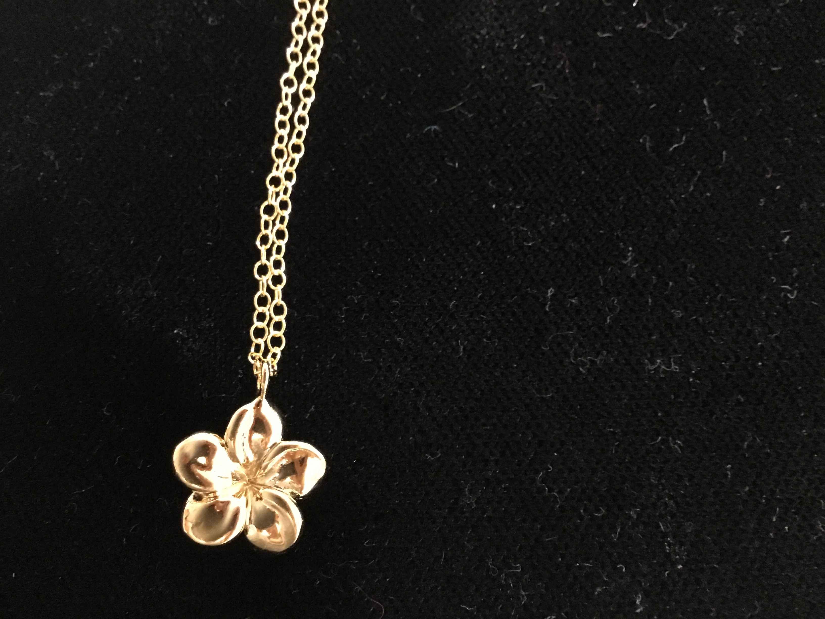KE Melia Plumeria Nk by  Ki'ele Jewelry - Masterpiece Online