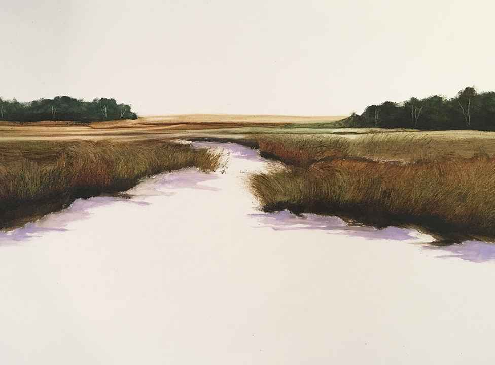 Lavender Tide  by  Susan Leggitt