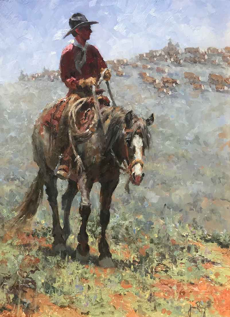 Riding Flank by Mr. & Mrs. Jim Rey - Masterpiece Online