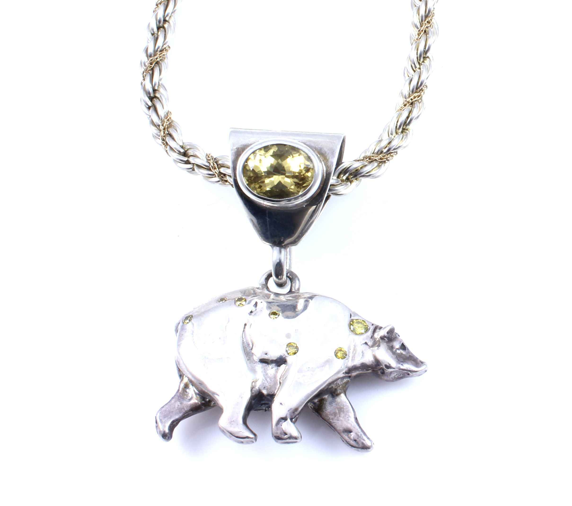 strange wolf silver image badger fruit pendant bear uk
