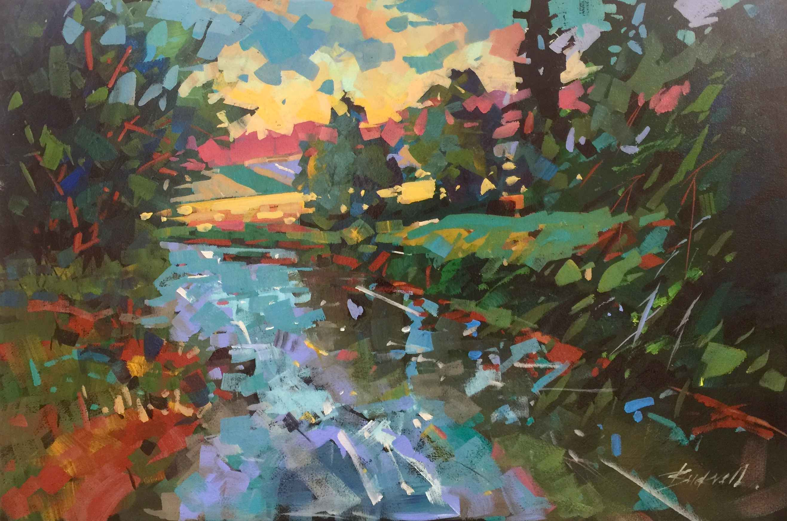 Sunday On The River by  Brian Buckrell - Masterpiece Online