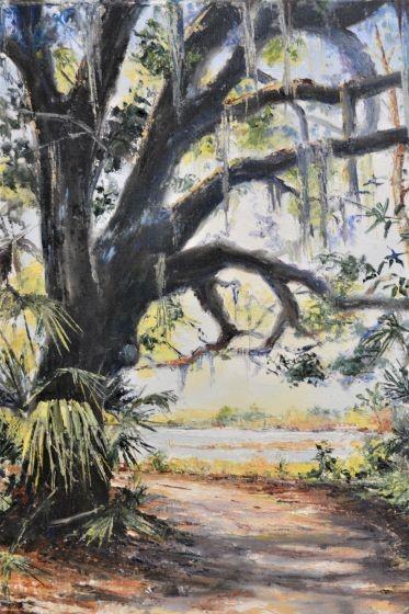River Oak by  Debra Brienen - Masterpiece Online