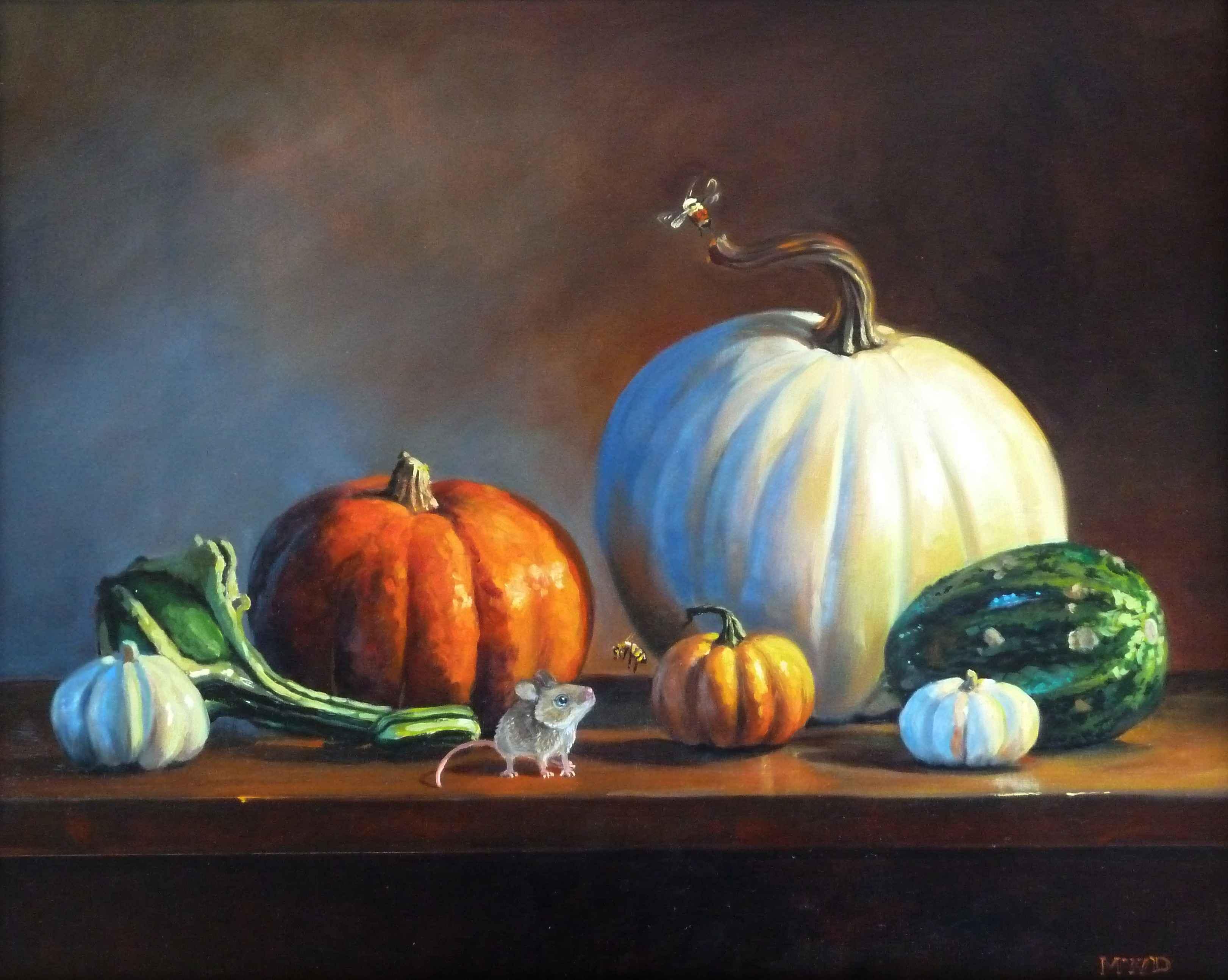 Friendly Encounter by  Michelle Waldele - Masterpiece Online