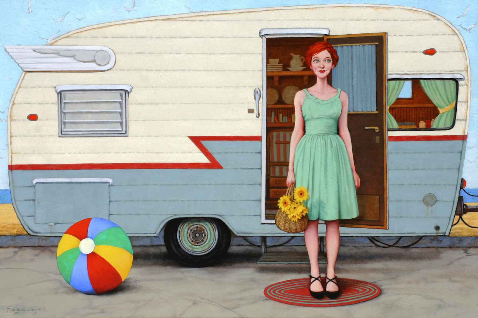 Having a Ball by Mr. Fred Calleri - Masterpiece Online