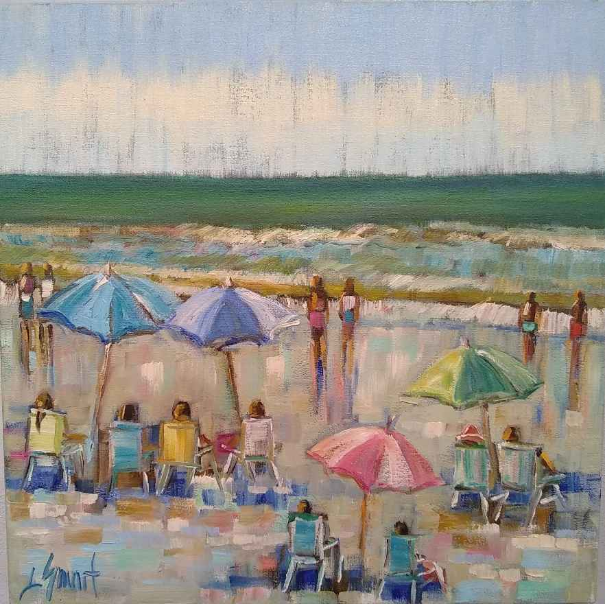 Beach Day by  Libby Smart - Masterpiece Online