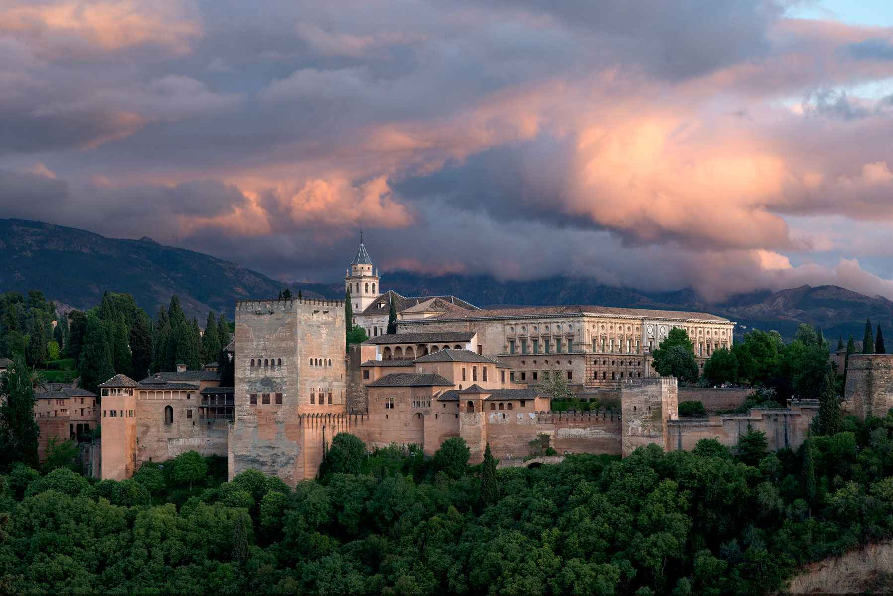 The Alhambra, Granada  by  Peter Coffman