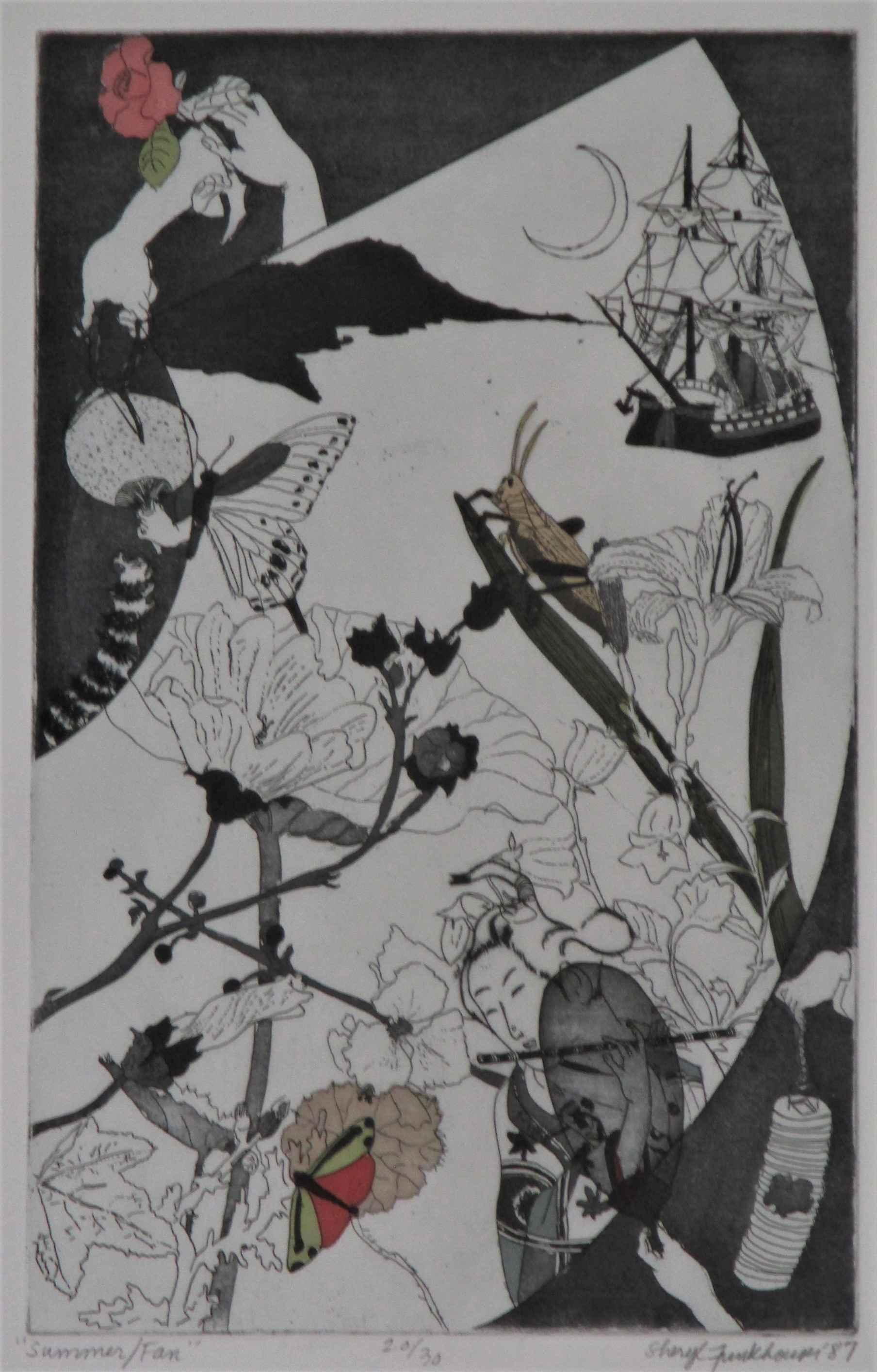 Summer Fan by  Sheryl Funkhouser - Masterpiece Online
