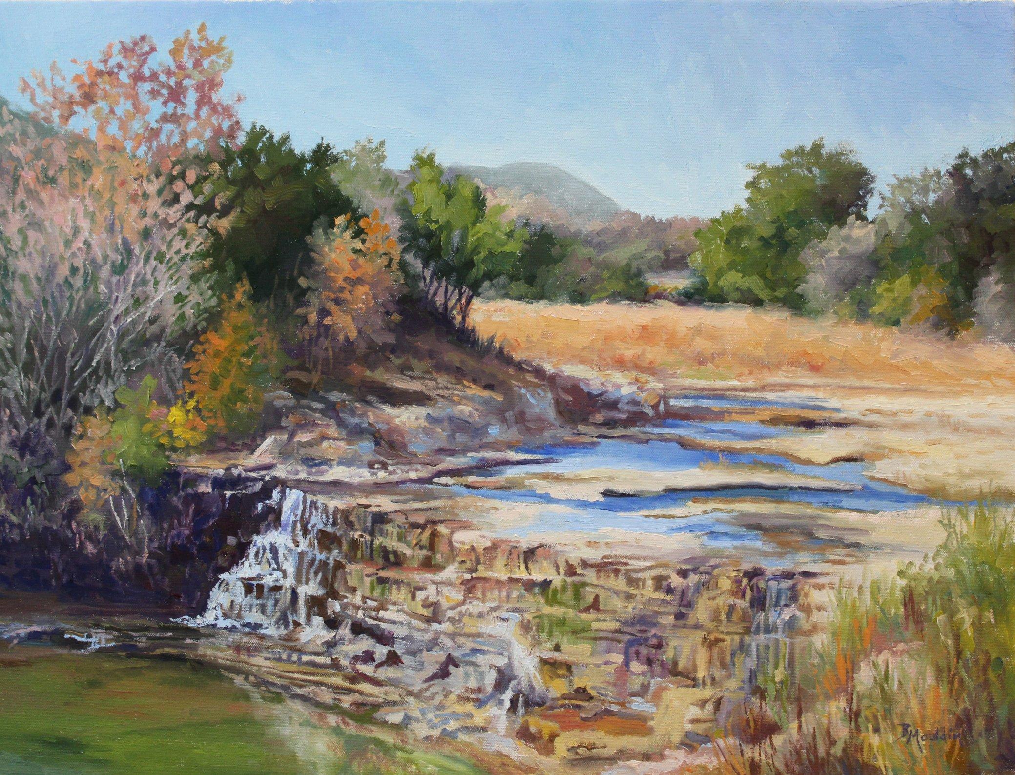 Joshua Creek by  Barbara Mauldin - Masterpiece Online