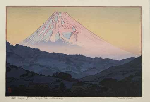 Mt. Fuji From Nagaoka... by  Toshi Yoshida - Masterpiece Online
