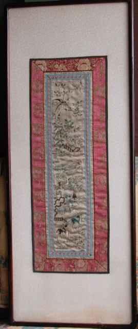 Cranes and Deer, Silk... by  Unknown Unknown - Masterpiece Online