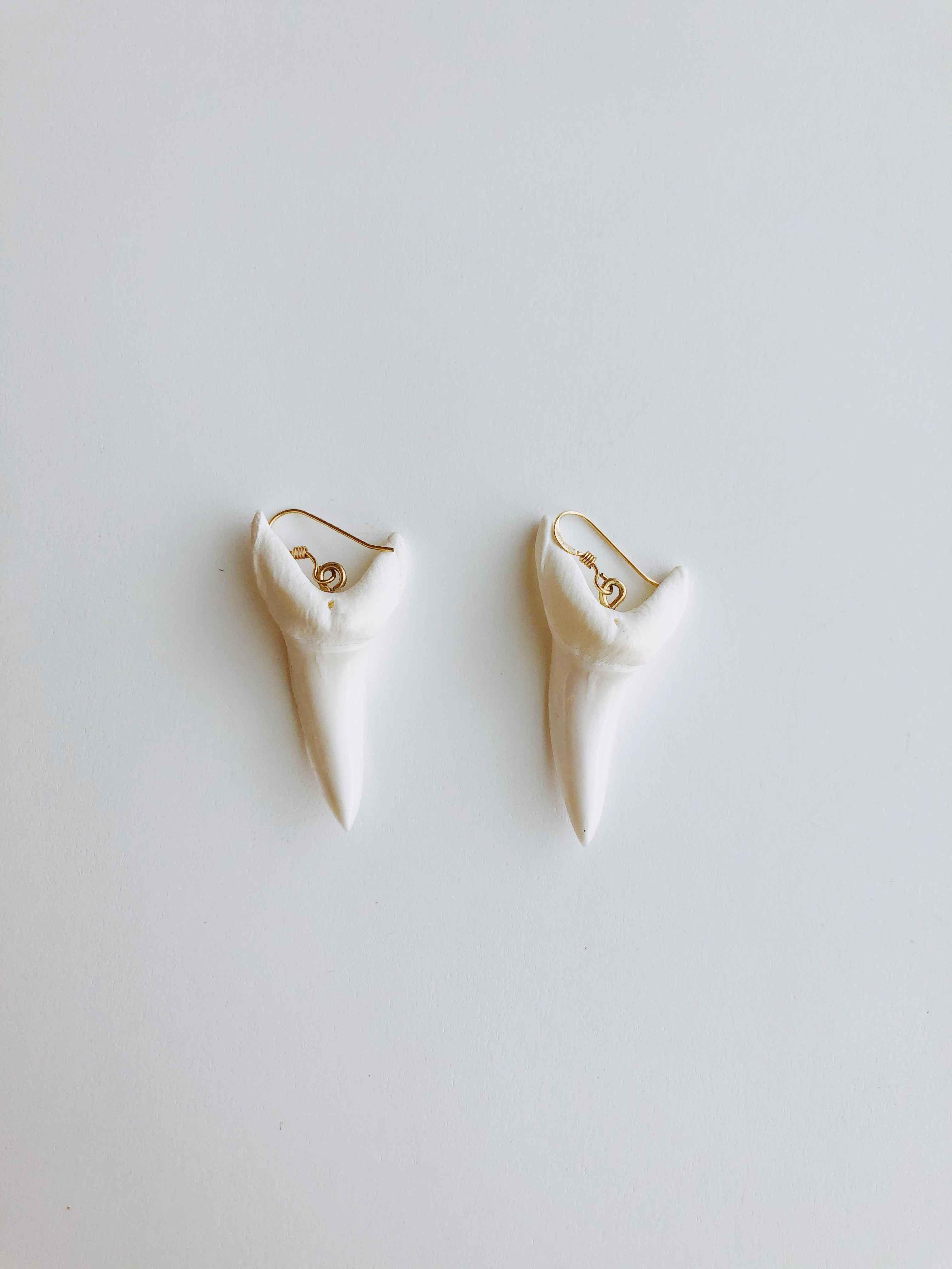 Mako Shark Earrings by  Cathy Miller - Masterpiece Online