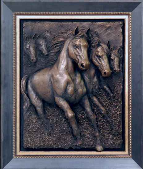 Freedom Horses by  Bill Mack - Masterpiece Online