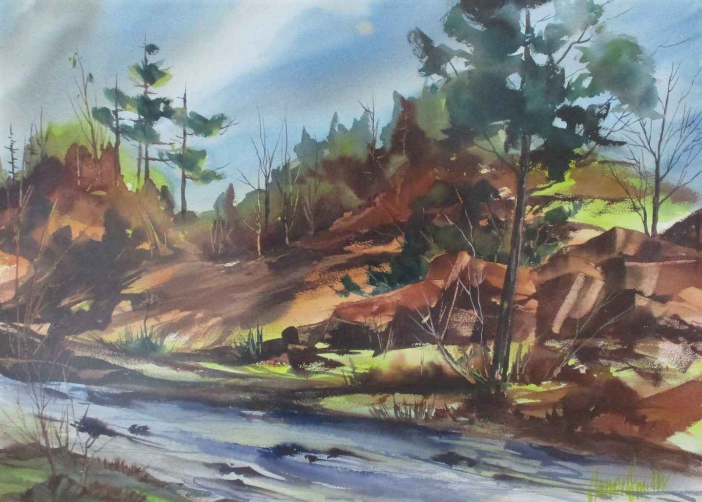 Unknown (creek) by  Sharon Smith - Masterpiece Online