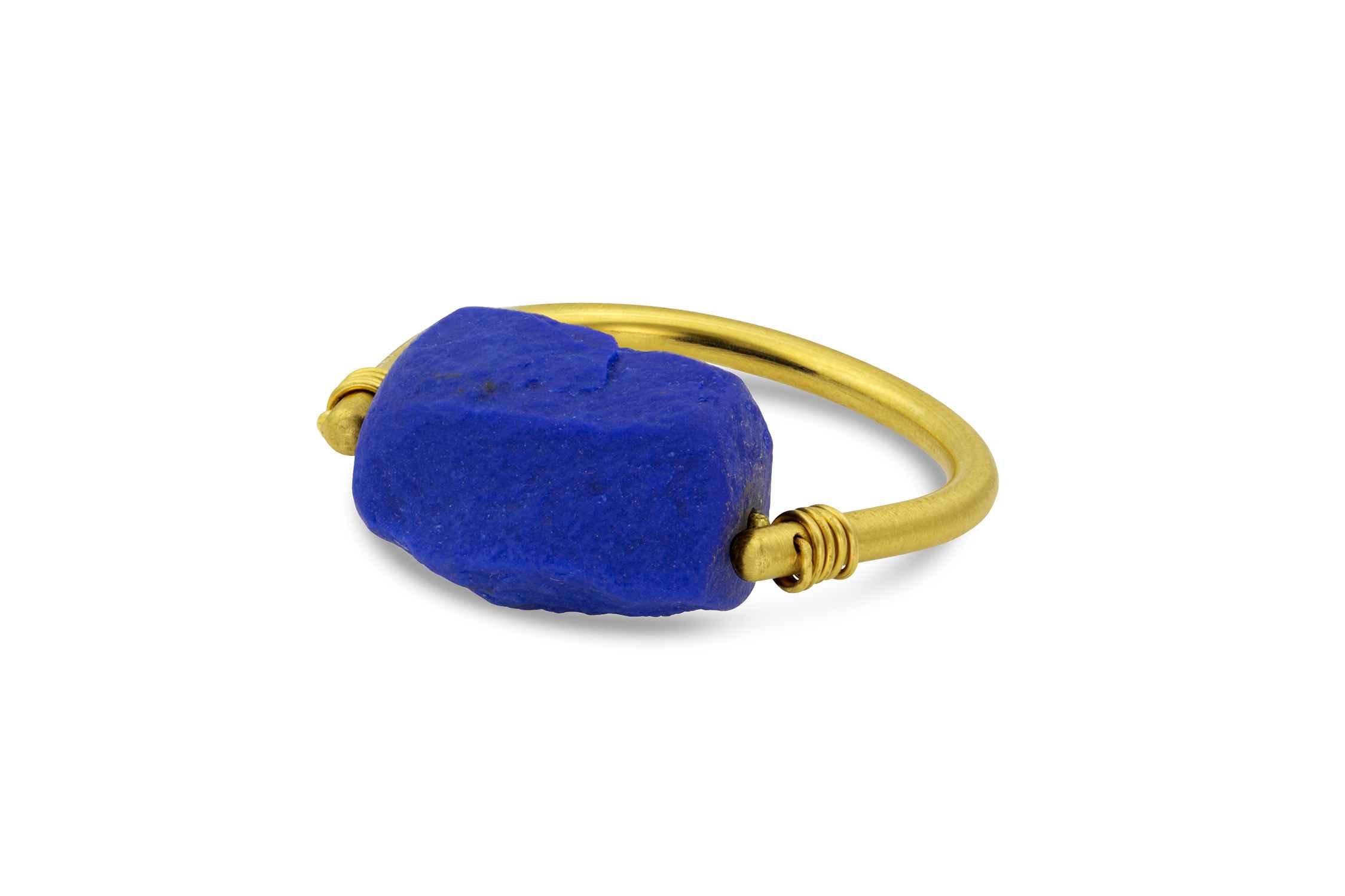 Lapis Spinner Ring by  Loren Nicole - Masterpiece Online