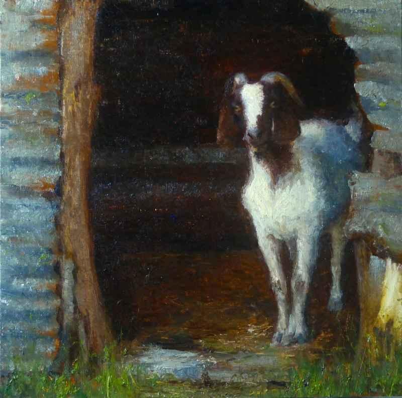 Goat Guard by  Kim Carlton - Masterpiece Online