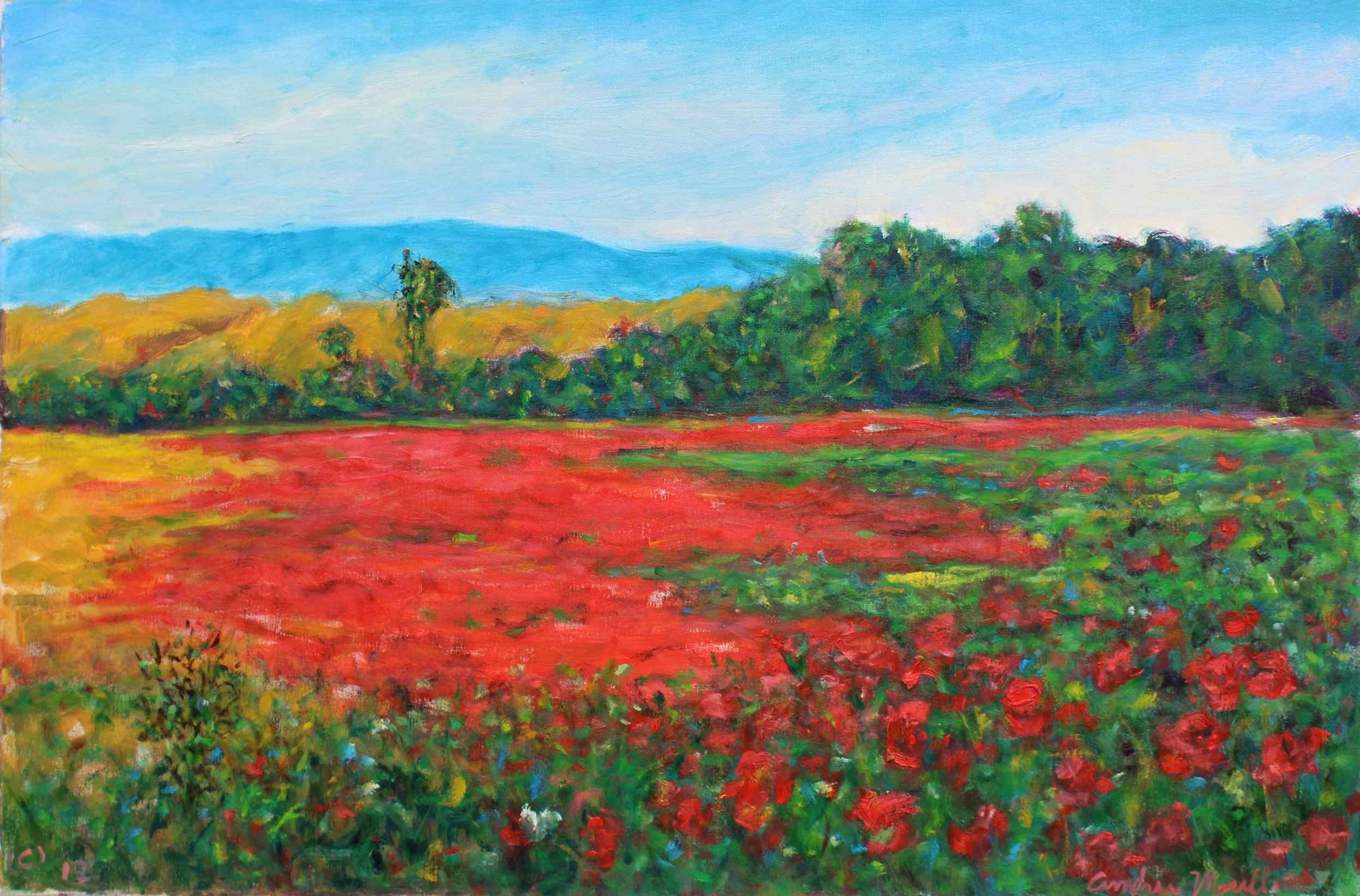 This is Field with Hidden Bea... by  Andres  Morillo  art collection of Classic Art Gallery represented by Classic Art Gallery - Masterpiece Online