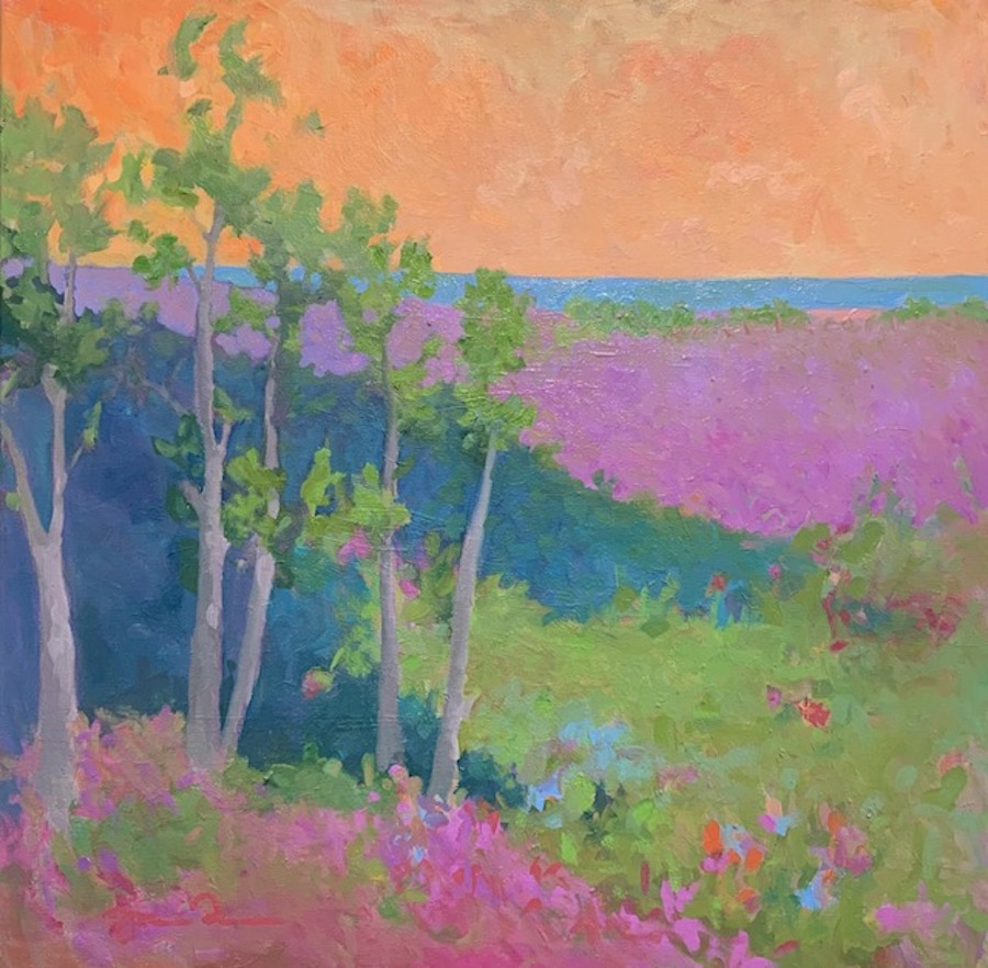 Summer Night by  Julie Friedman - Masterpiece Online